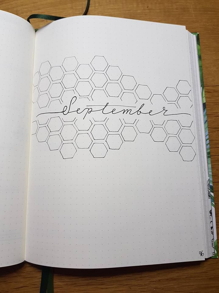 September monthly cover page