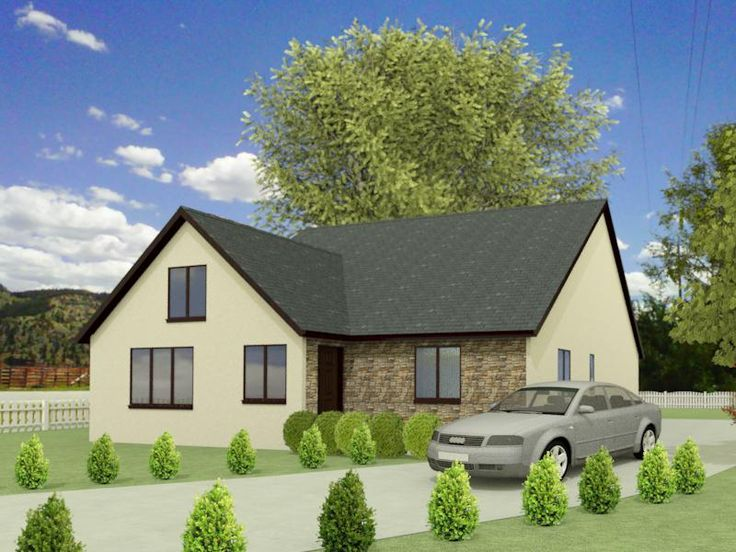 17 best images about self build dormer bungalow on for Bungalow designs uk
