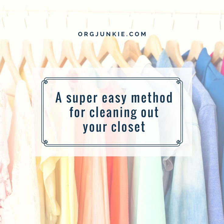 1000 images about decluttering purging tips ideas on - Cleaning out your closet ...