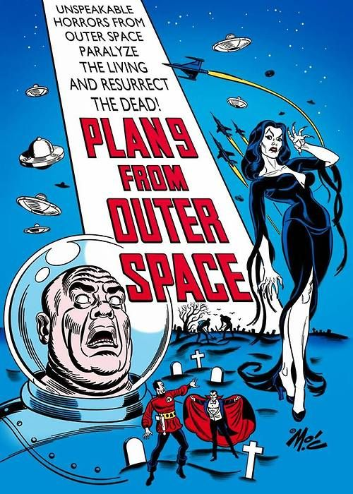 28 best images about plan 9 from outer space on pinterest for Outer space planning and design group