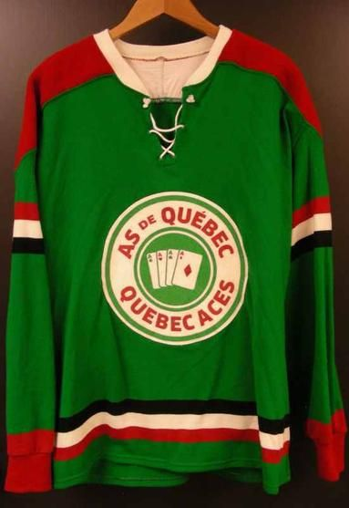 cb202b5c6 Quebec Aces vintage hockey jersey