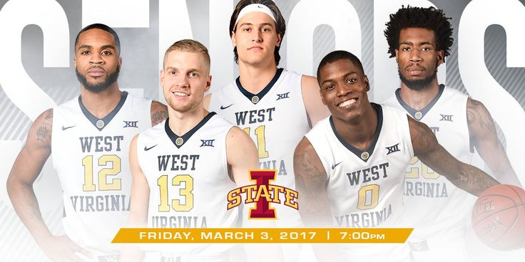 Make sure you get your seats at the game Friday night at 6:30 pm for senior night ceremony so can buy tickets for the ceremony at at www.WVU.com/game