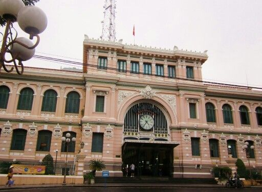 The Post Office, Ho Chi Minh City, Vietnam