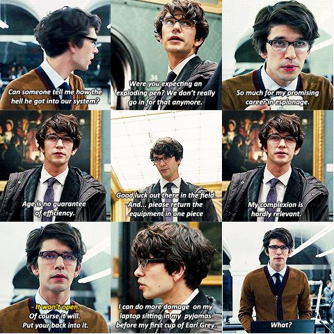 The new Q (Ben Whishaw). (James Bond/Skyfall)