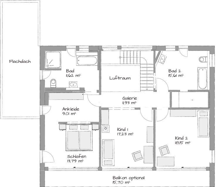 420 best Home images on Pinterest Bathroom ideas, Architecture - grundriss küche mit kochinsel