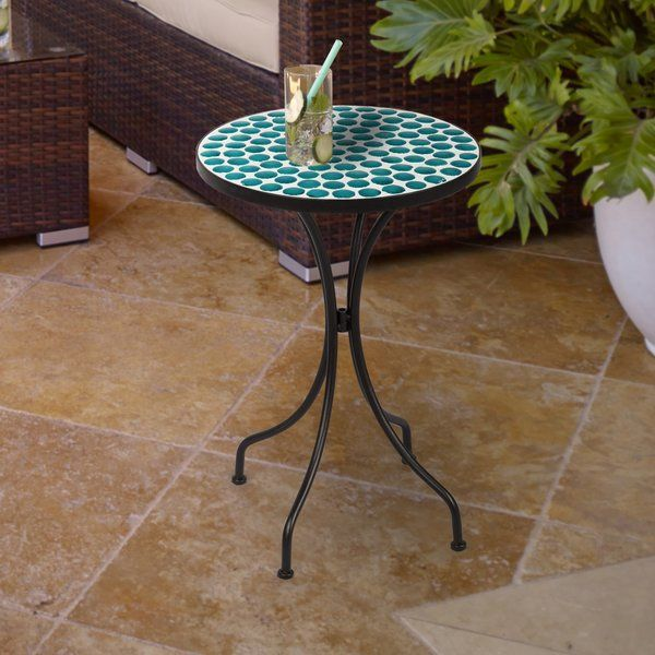 Brionna Metal Side Table Metal Side Table Outdoor Accent Table Side Table