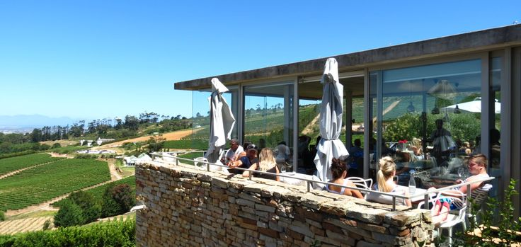 Wine tasting at the architecturally beautiful Beau Constantia with stunning views of the Constania Valley