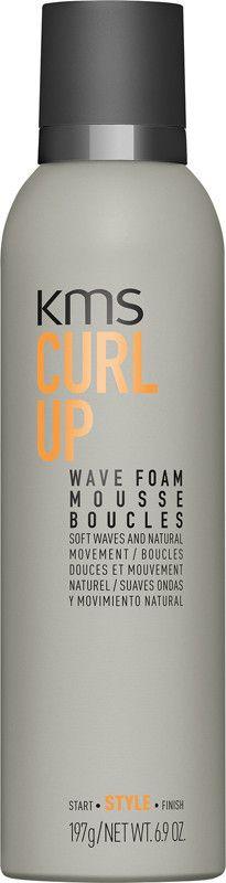 KMS California CURLUP Wave Foam