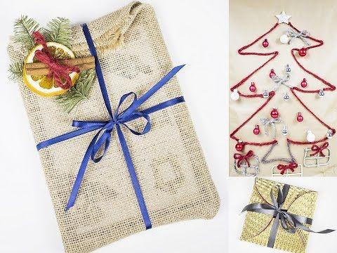 Jak pakować prezenty? Jak spakować prezent? Jak spakować prezent pod cho...