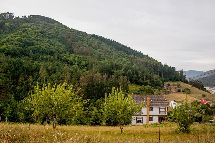 Una casa en la montaña. A Pontenova. Clara Paradinas photography