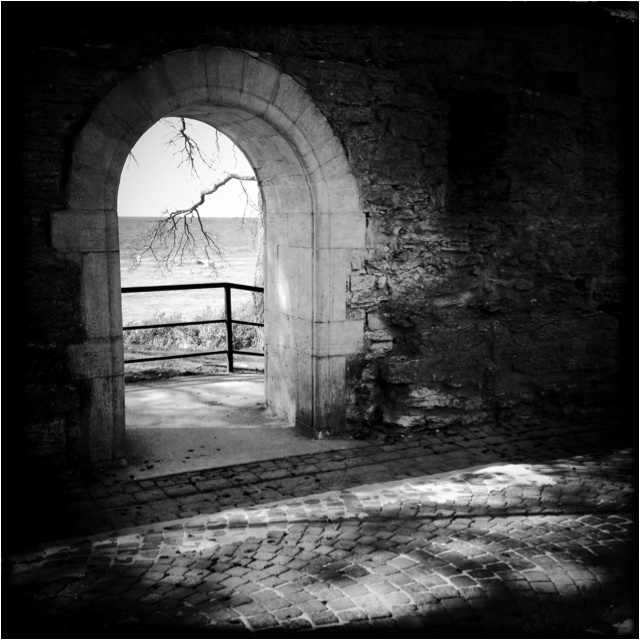 Gate of Love in Visby Gotland