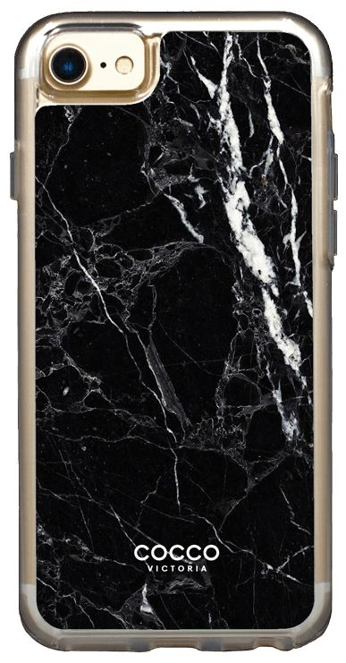 Black Exotic Marble Case - iPhone 7/6S/6