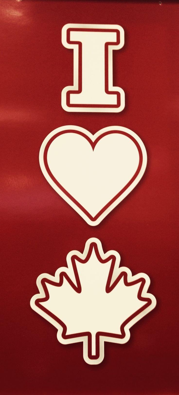 I love canada <3
