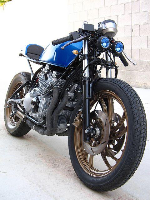 1982 Yamaha Xj550 Cafe Racer Custom Motorcycles Cafe