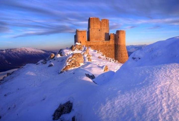 Rocca Calascio nel Calascio, Abruzzo