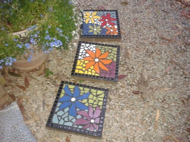 Mosaic Garden Stepping Stones 63 best crafts mosaicsstepping stones images on pinterest my mosaic garden stepping stones workwithnaturefo