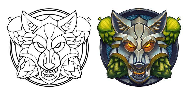 Wolf Emblem by WesTalbott on DeviantArt