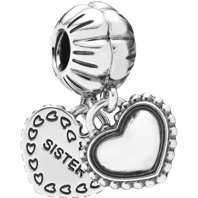 Charm Pandora 791383 - Charm Pendentif Ma Soeur Adorée