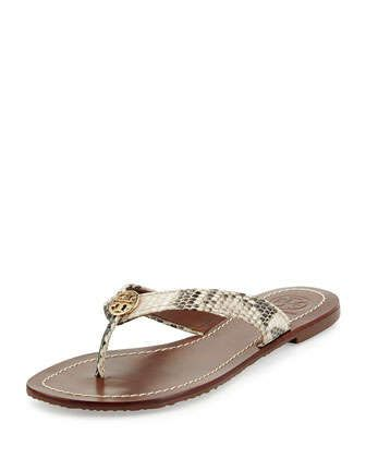 Perfect versatile #sandal. will go with lots of looks. Thora Snake-Print