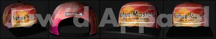 Sphuz-masters snap back hat, Alexis Moeketsi on ArtStation at https://www.artstation.com/artwork/VJK35