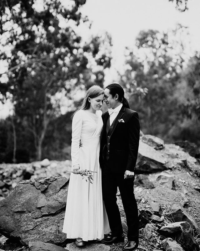 Kirsten and Jason last weekend, near my place. . . . #Documentaryweddingphotographer #weddingseason #loveauthentic #ftwotw #bohowedding #theknot #elopement #brideandgroom #smpweddings #shesaidyes #realweddings #weddingdetails #risingtidesociety #loveintentionally #destinationwedding #destinationweddingphotographer #featuremeoncewed #stylemepretty #elopementphotographer #intimatewedding #greenweddingshoes #blackandwhite
