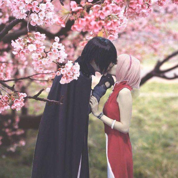 SasuSaku cosplay. i miss naruto T^T