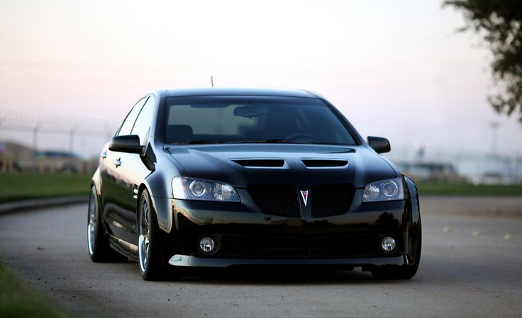 A Pontiac G8 with a perfect stance.  As an owner myself, I would like to set like this with my car.