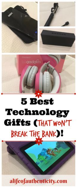 The 5 Best Technology Gifts (that won't break the bank