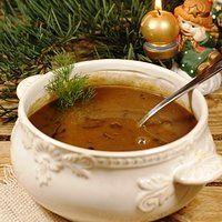 Zupa grzybowa (z suszonych grzybów)