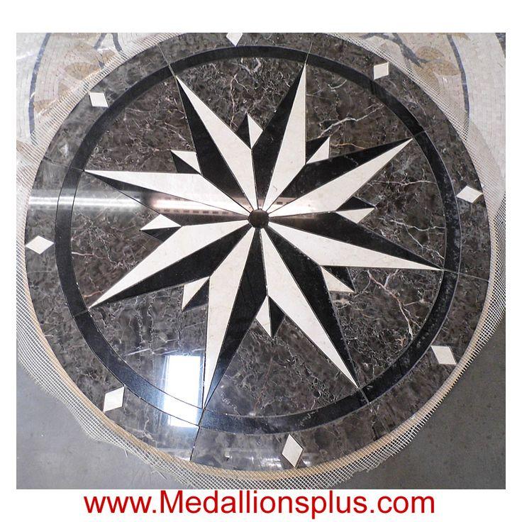 Amsterdam 36 Quot Waterjet Medallion Medallionsplus Com