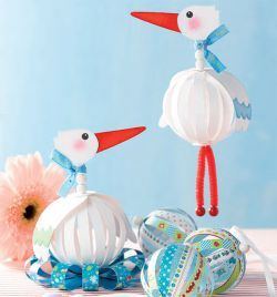 Leuke vogeltjes die we misschien kunnen knutselen als er een leerling een zusje of broertje heeft gekregen.