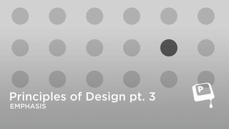 Principles Of Art Emphasis : Ctrlpaint principles of design emphasis on vimeo