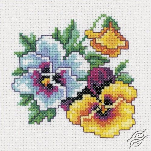 Pansy - Cross Stitch Kits by RTO - H242                                                                                                                                                      More