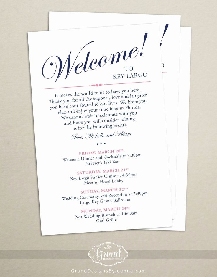 Free Wedding Accommodation Card Template Awesome Itinerary Cards For Wedding Hotel Wel Hotel Welcome Bags Destination Wedding Welcome Bag Wedding Welcome Bags