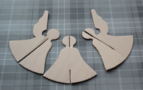 Make: Papercraft Christmas Angel | Cook Quilt Make and Bake