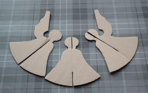 Make: Papercraft Christmas Angel | Cook Quilt Make and Bake