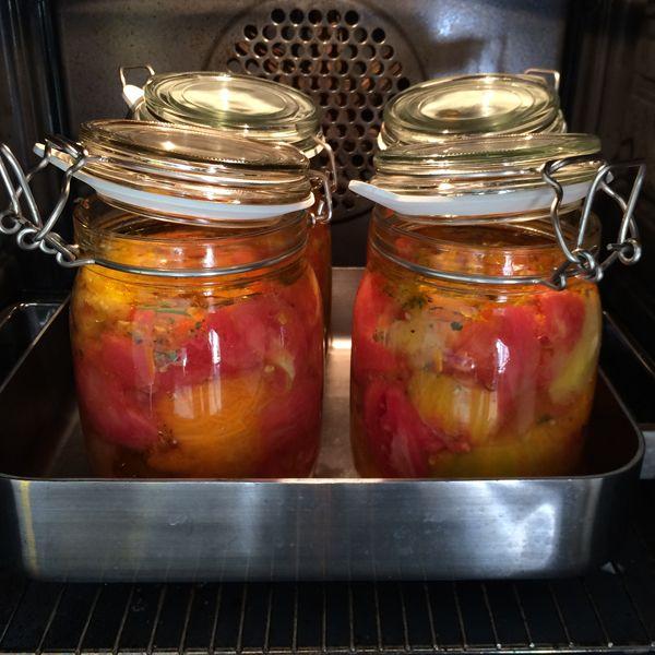 Tomater til vinterforråd