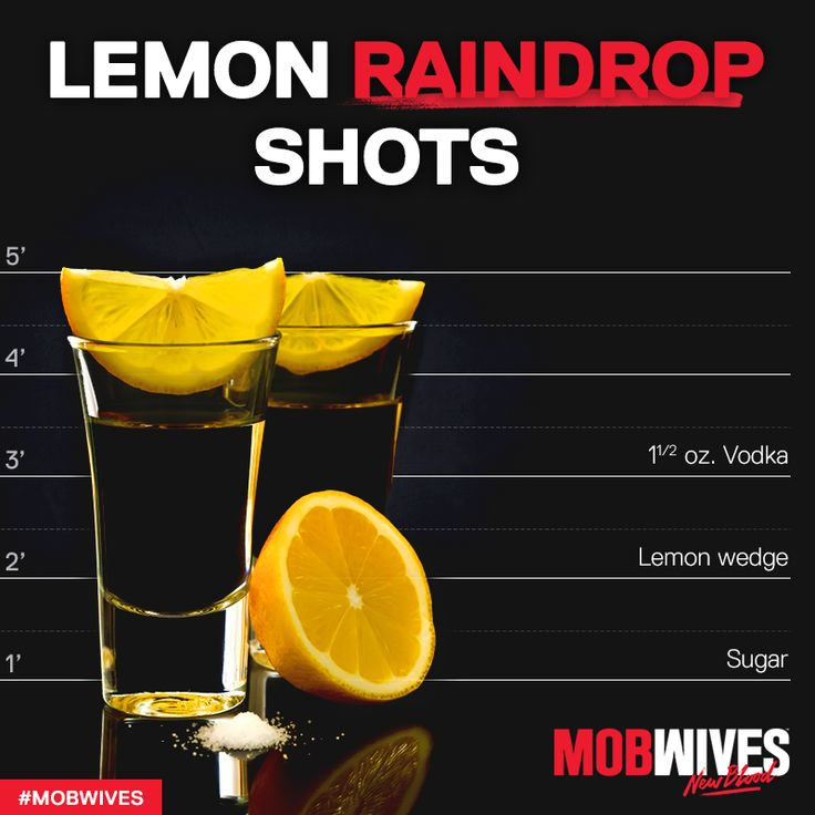 Recipe: Lemon Raindrop Shot