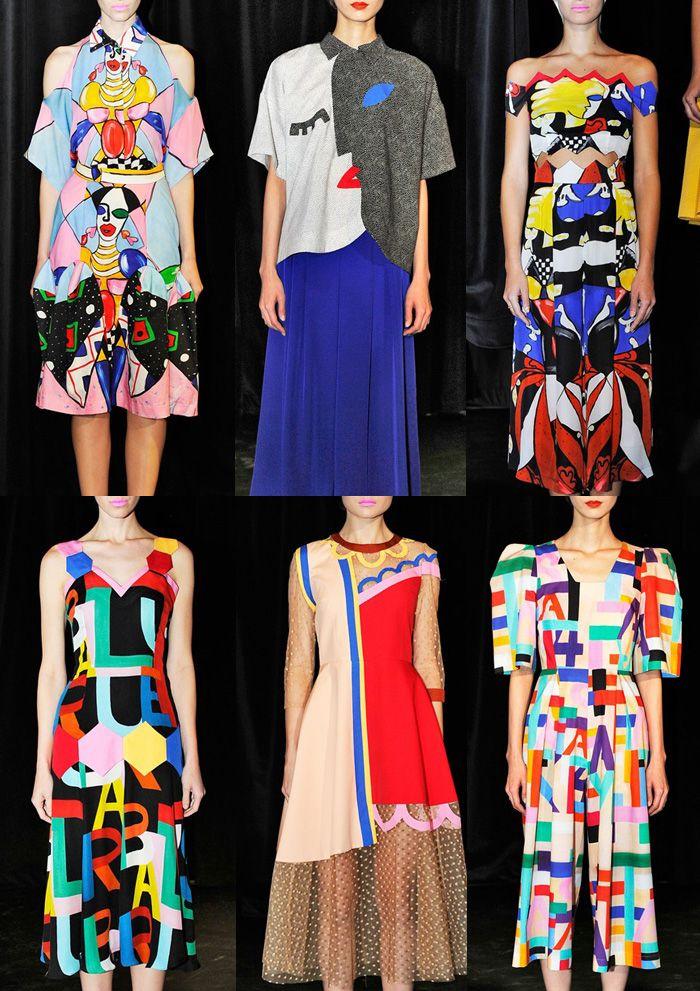 London Fashion Week   Spring/Summer 2014   Print Highlights   Part 3 catwalks