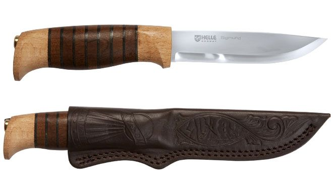 Helle Sigmund Knife - The Canadian Outdoor Equipment Co.