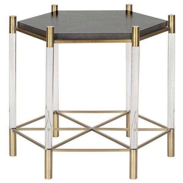 Vanguard Furniture Eucalyptus Slate Paquin End Table