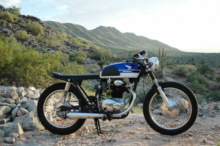 1969 Honda CL350 Cafe Racer