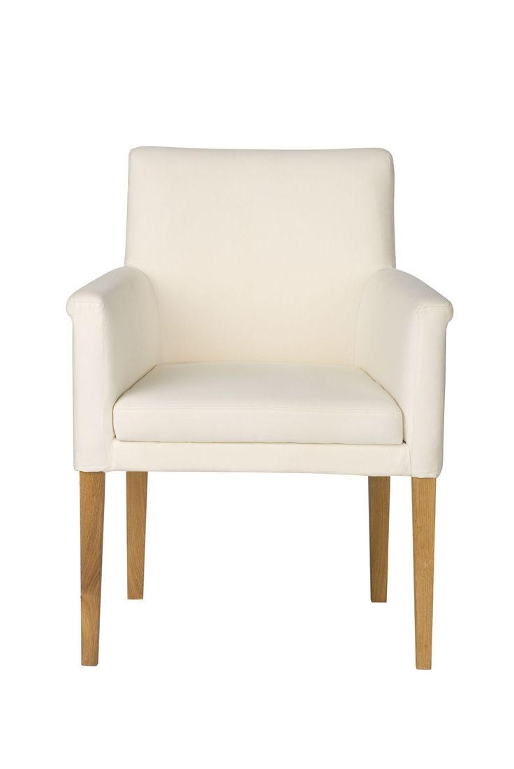 Elegant and comfy. See more home design ideas at www.klose.pl  #KloseFurniture #RestaurantFurniture #dinningroom #armchair