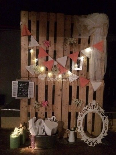 Photocall Pales De Sweet Event Decor Foto 27 Ideas
