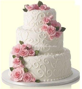 Pastel de Fondant y grecas de betún de Love Cake | Foto 6
