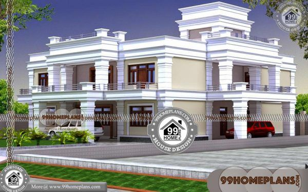 Free Duplex House Plans Indian Style 60 Double Story Display Homes Duplex House Plans House Roof Design House Outer Design