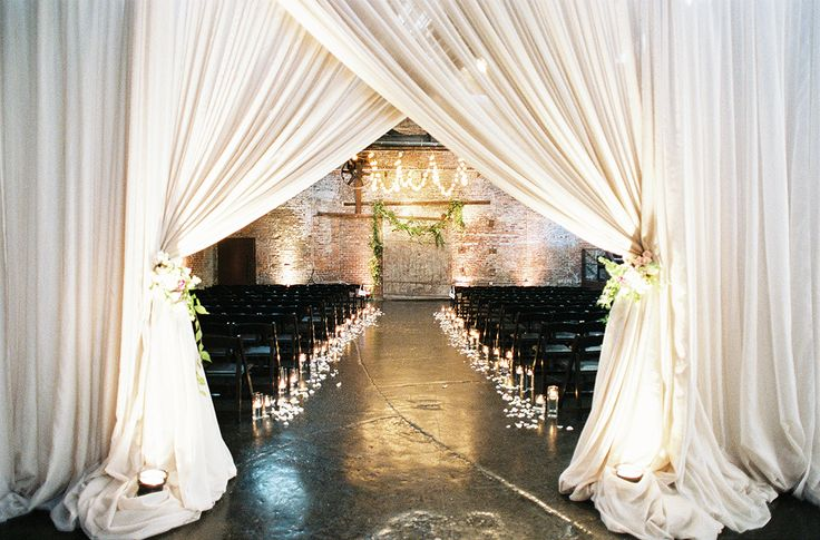 Most Beautiful Industrial Wedding Venues: King Plow Event Gallery by Odalys Mendez Photography and Amy Osaba Events