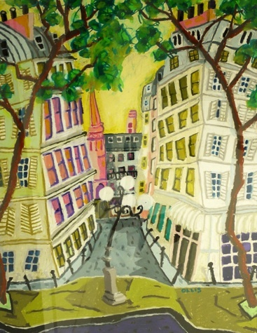 Bernard Ollis, 'Place De Furstenberg'
