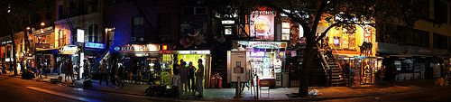 St. Mark's Place Panoramic, East Village, New York City