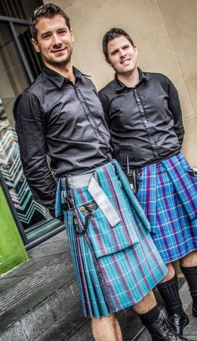 Kilted Doormen at the Grand V Hotel in Edinburgh. I really want to stay here!